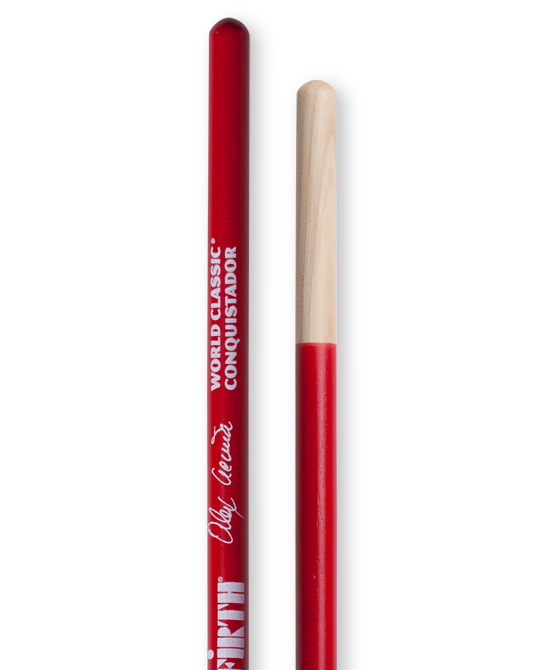 Image of   Vic Firth Alex Acuna Conquistador signatur timbalestikker