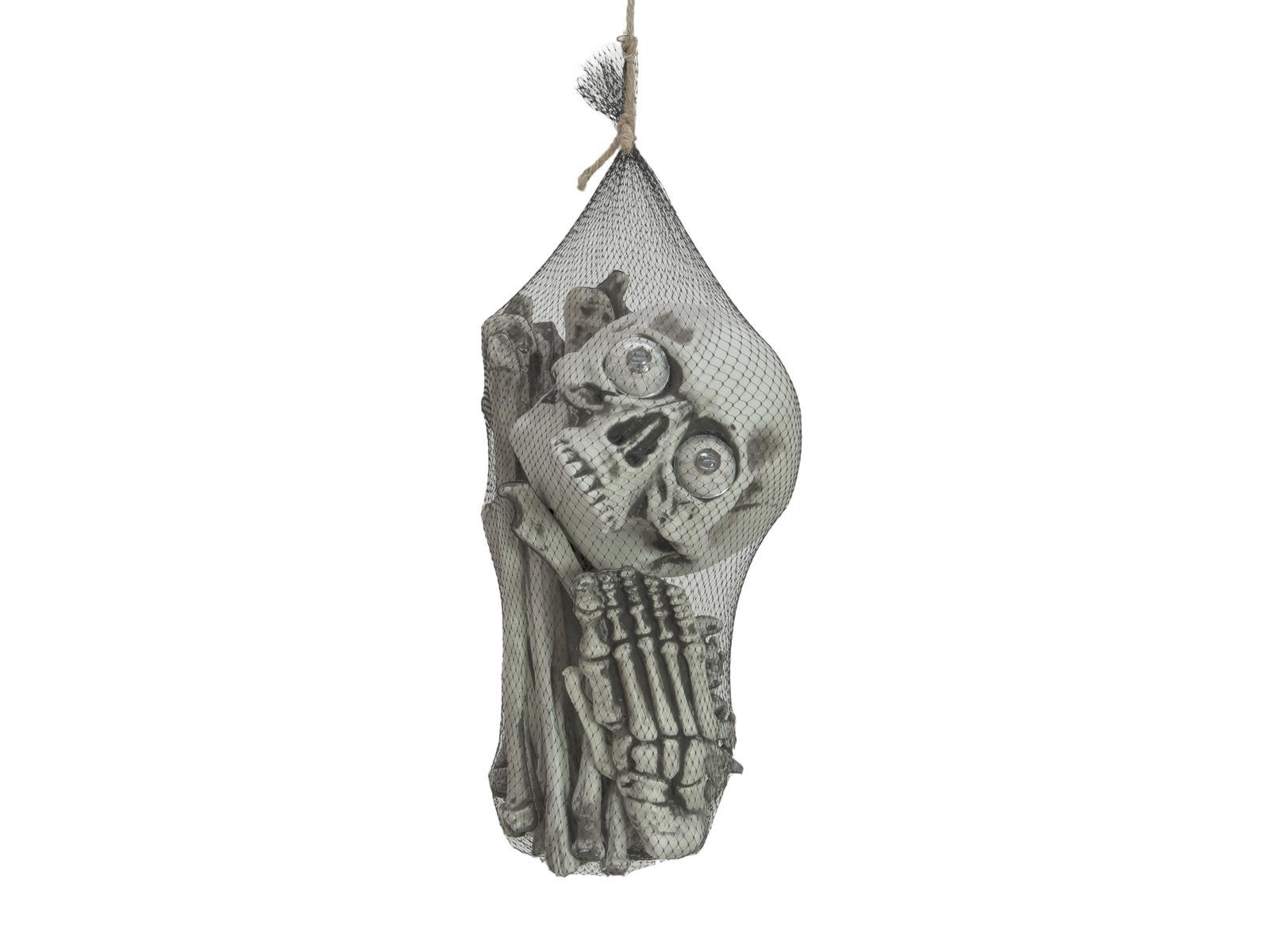 Image of   Halloween sæk med knogler