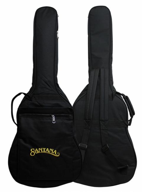 Santana LA100 Western Guitar - Cutaway EQ, Pickup, m/Taske Sunburst