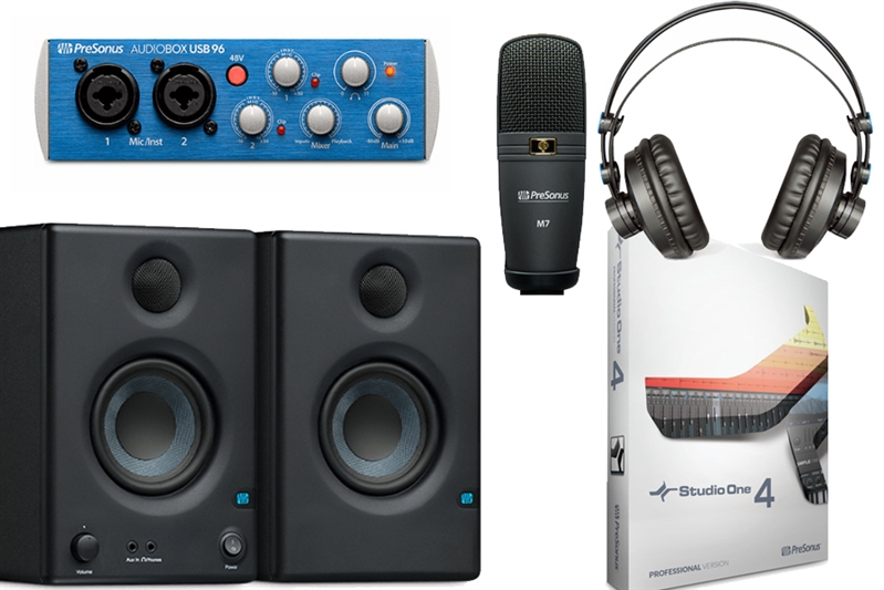 Image of   Presonus Audiobox Ultimate Bundle