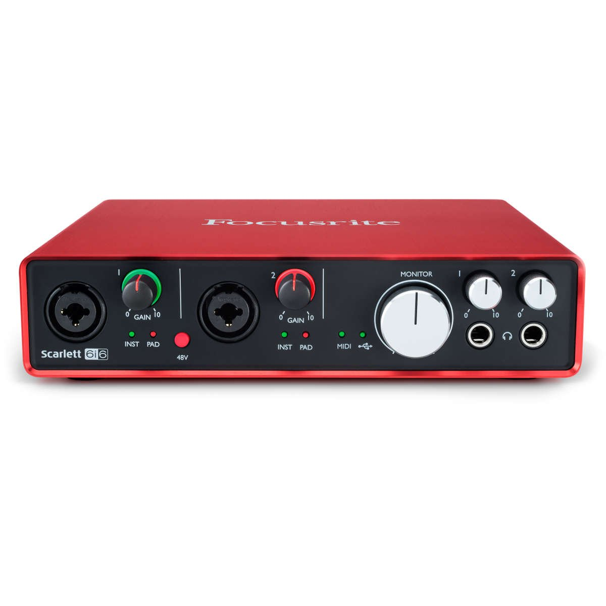 Image of   Focusrite Scarlett 6i6 | 2nd Gen