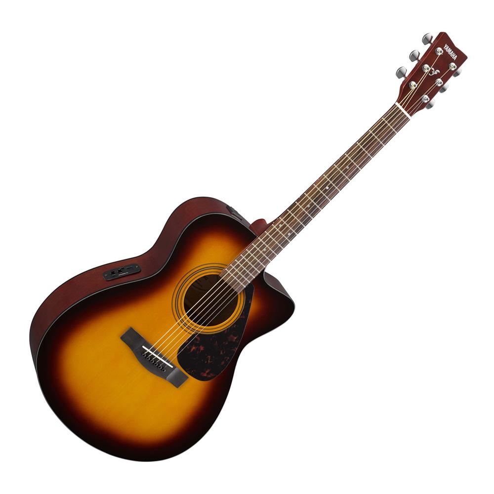 Image of   Yamaha FSX315C Folk Guitar - Tobacco Brown Sunburst