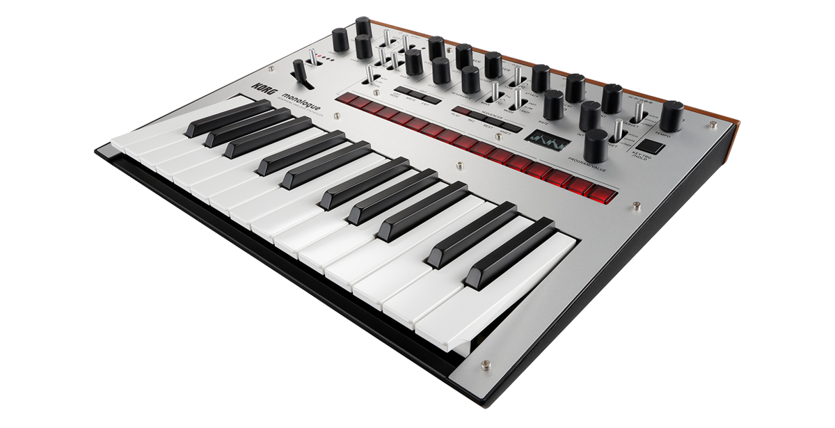 Image of   Korg Monologue Silver Synthesizer