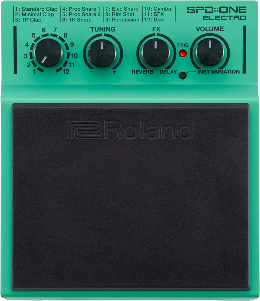 Image of   Roland SPD-1E ONE ELECTRO Trommepad