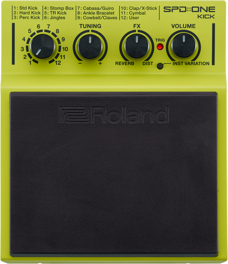 Image of   Roland SPD-1K ONE KICK Trommepad