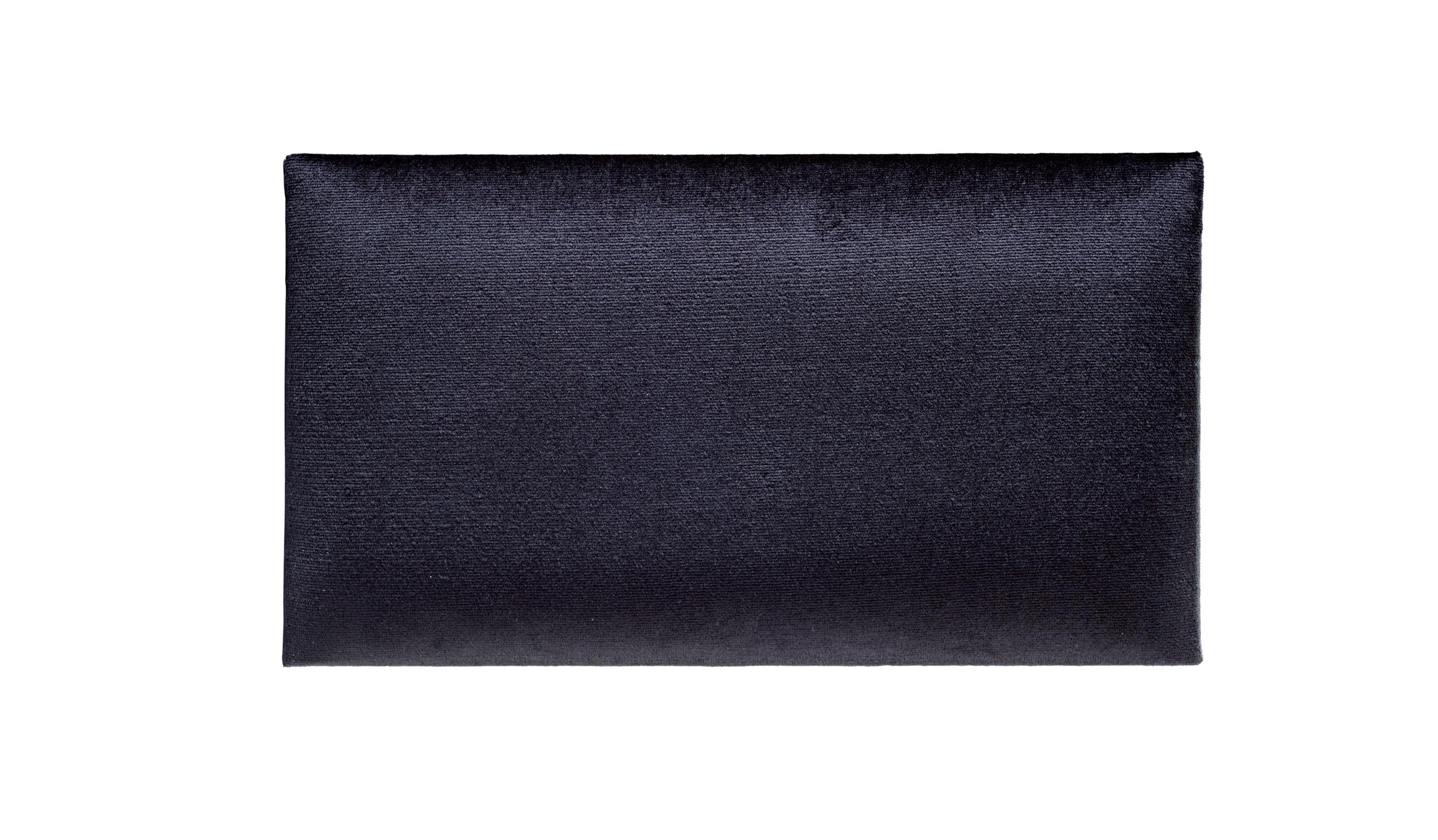 Image of   K&M sædepolster til 13700 > 13751, sort fløjl