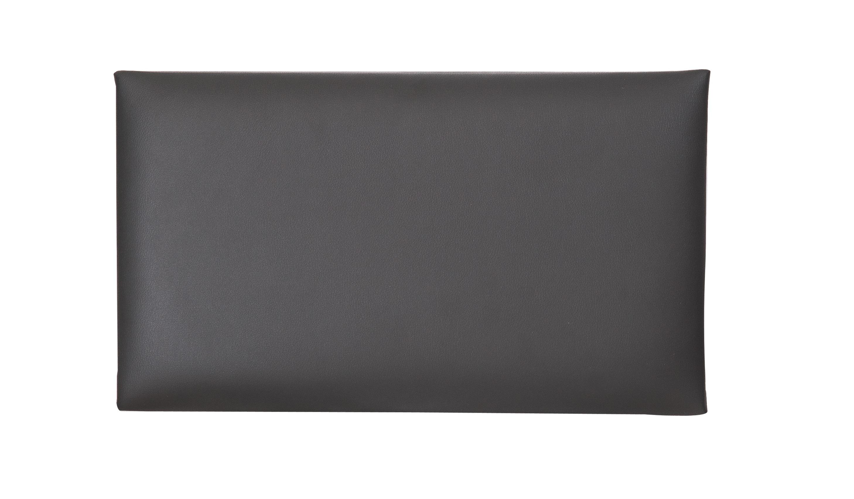 Image of   K&M sædepolster til 13700 > 13751, sort kunstlæder