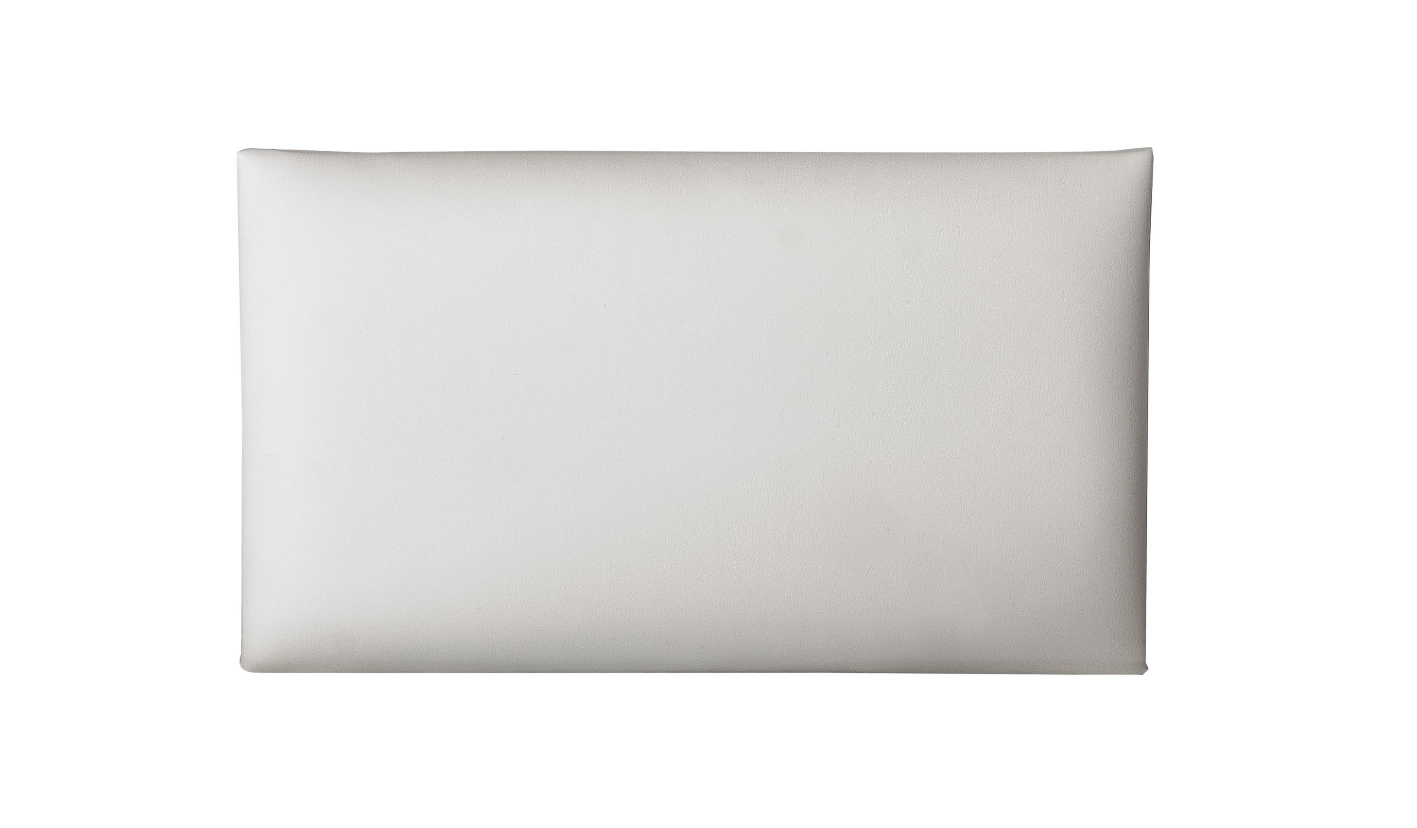 Image of   K&M sædepolster til 13700 > 13751, hvidt kunstlæder