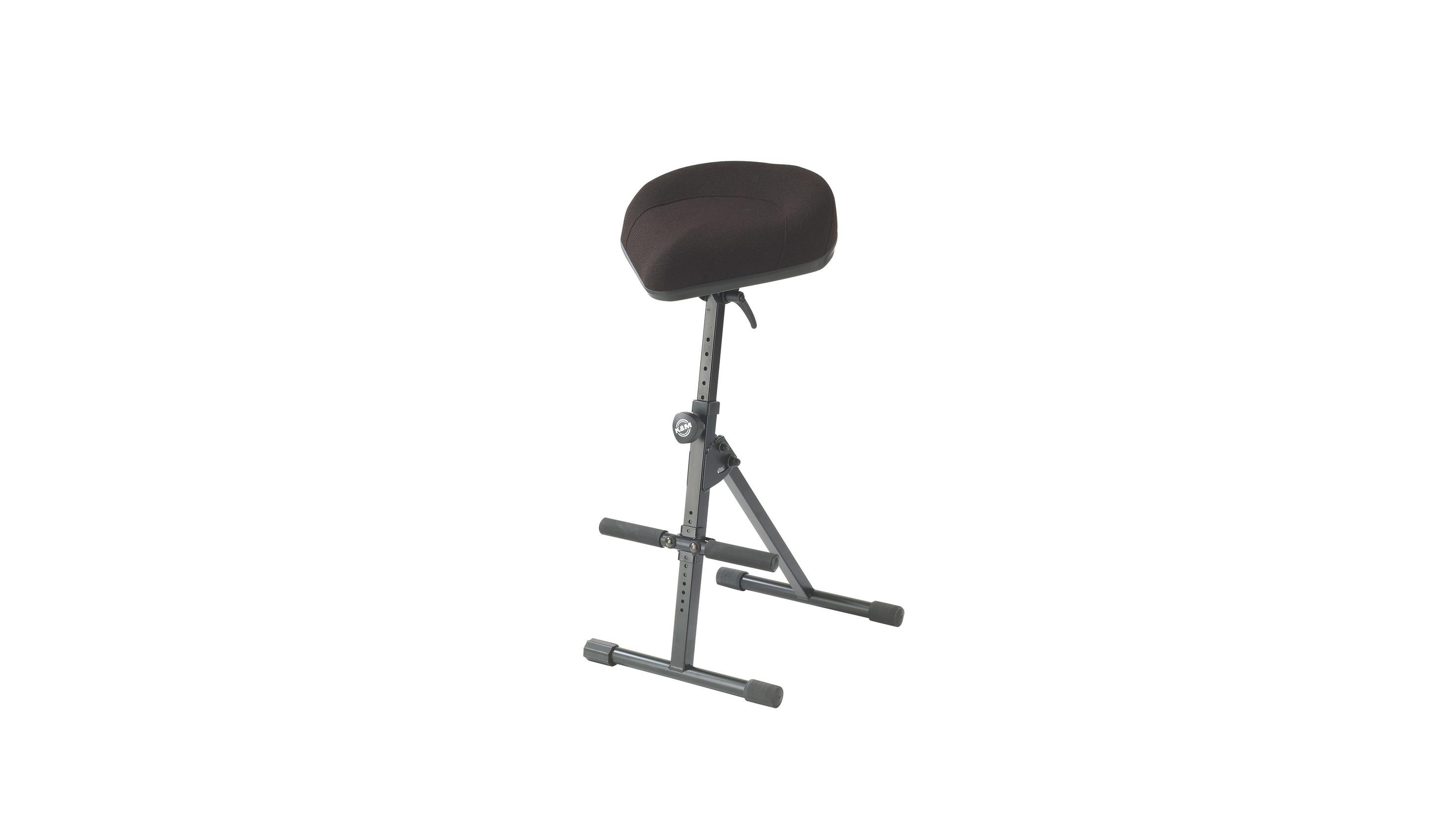 Image of   K&M stol (universal) til keyboard, slagtøj m.v. stof
