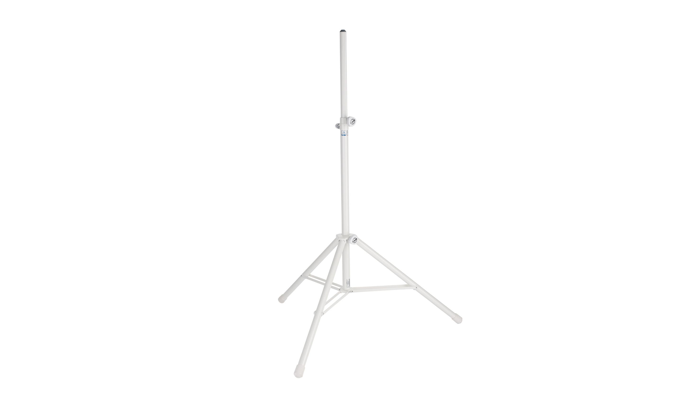 Image of   K&M højttalerstativ alu, hvid
