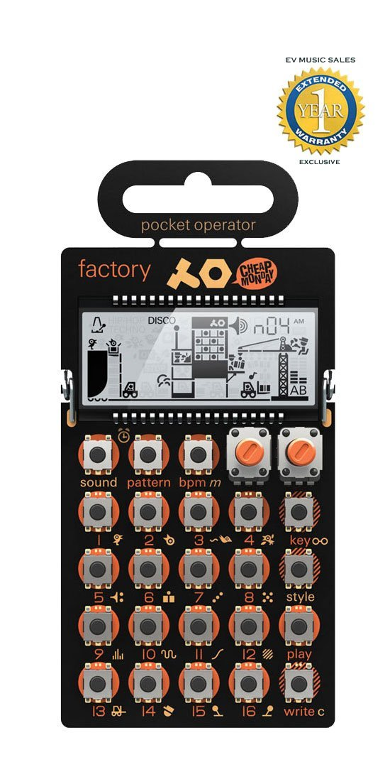 Image of   teenage engineering PO-16 Factory