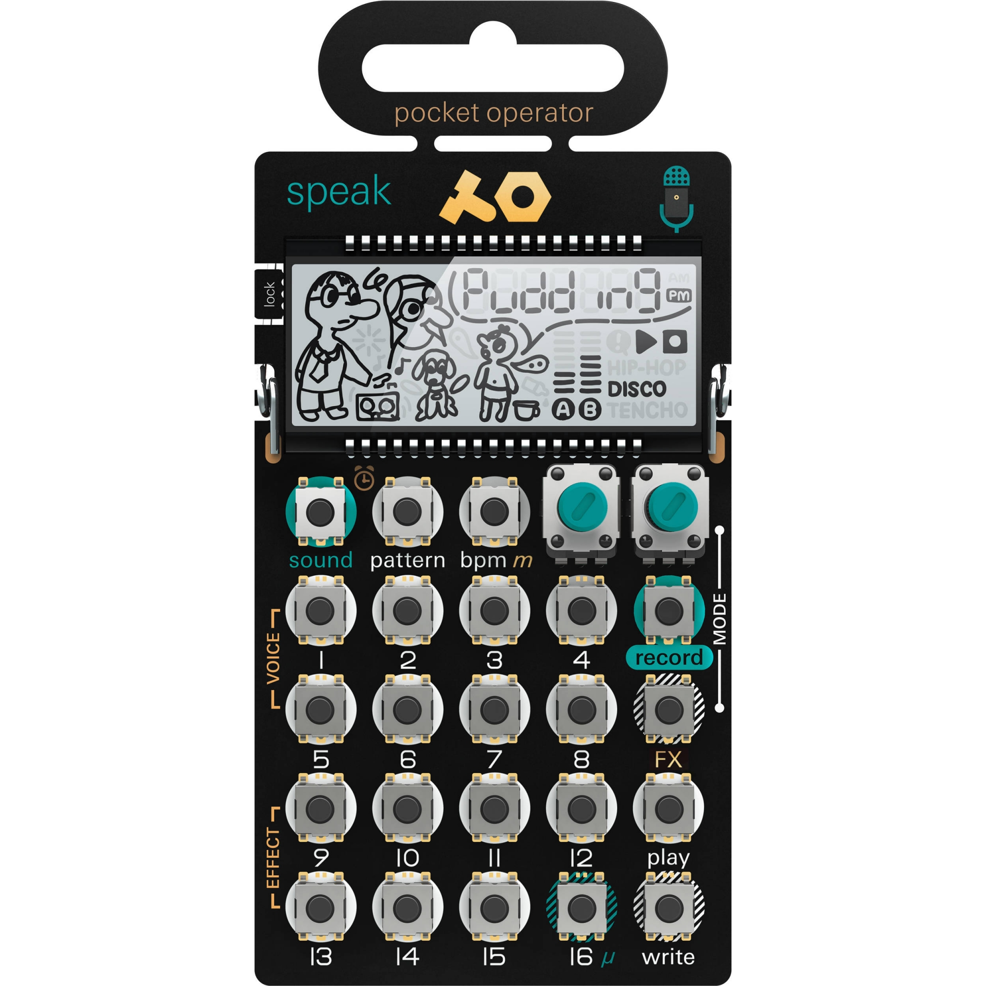 Image of   teenage engineering PO-35 speak