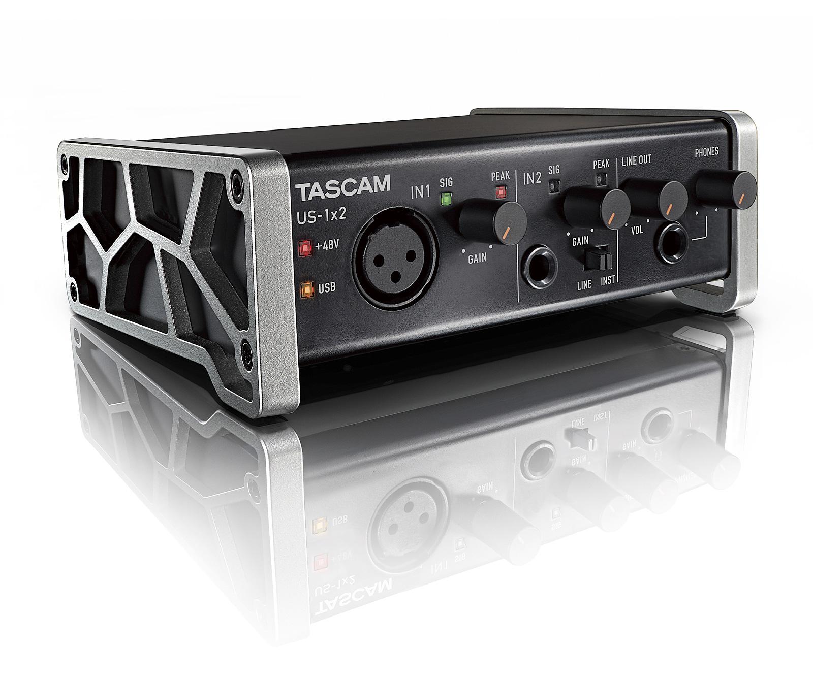Image of   Tascam US-1x2 USB 2.0 Audio interface