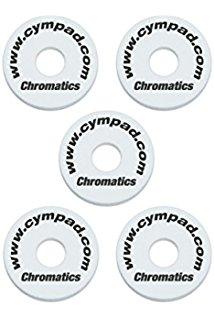 Image of   Cympad Chromatics, 5 stk. Hvid