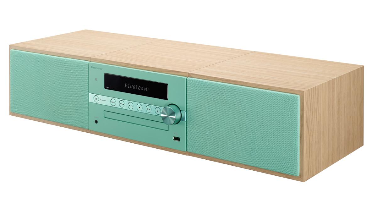 Image of   Pioneer X-CM56D - DAB+ radio og Bluetooth Farve: Grøn