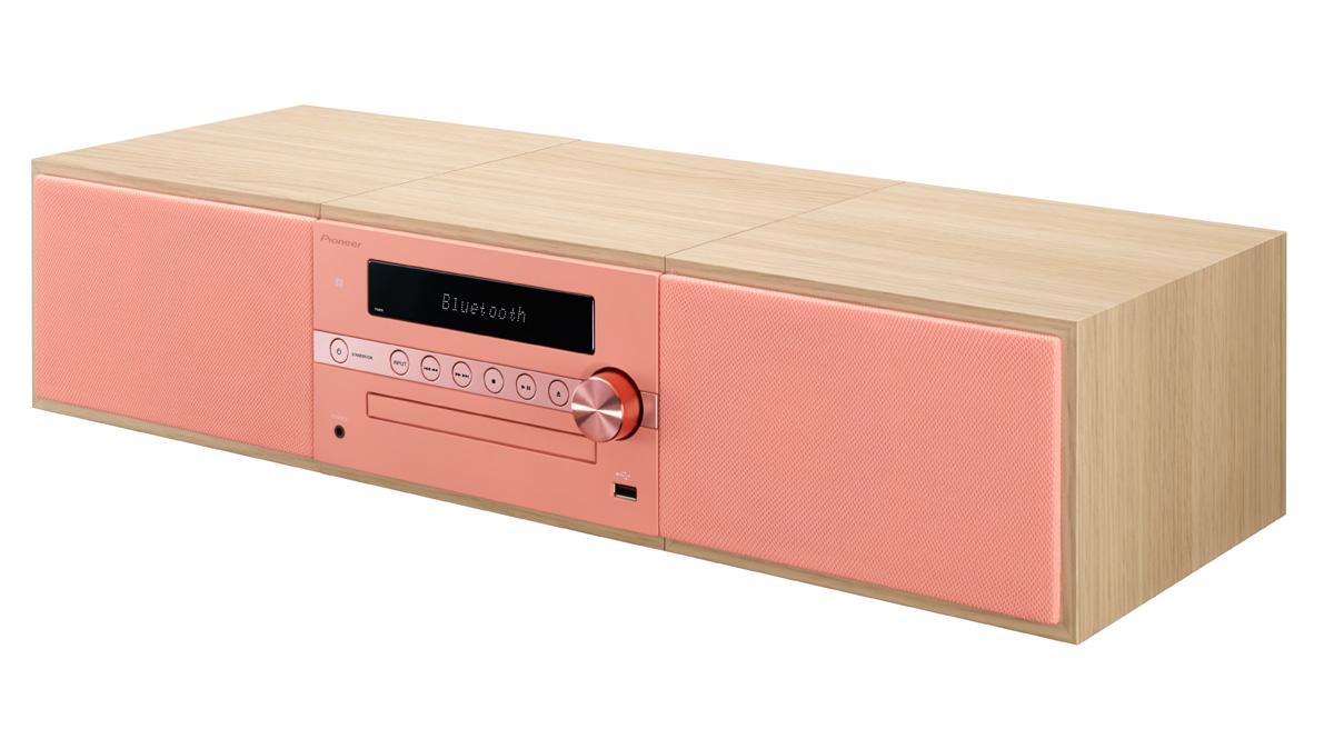 Image of   Pioneer X-CM56D - DAB+ radio og Bluetooth Farve: Rød