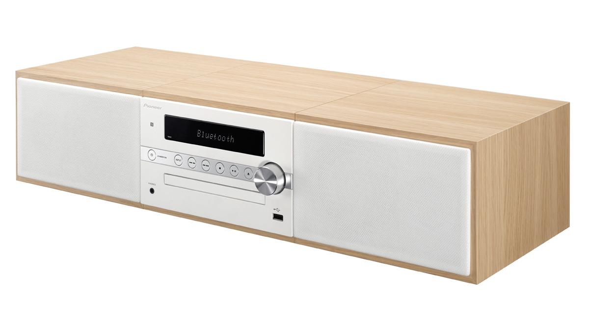Image of   Pioneer X-CM56D - DAB+ radio og Bluetooth Farve: Hvid