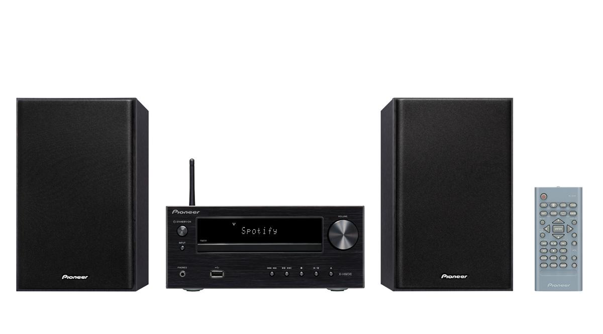 Image of   Pioneer X-HM36D - Bluetooth webradio og DAB+ Farve: Sort