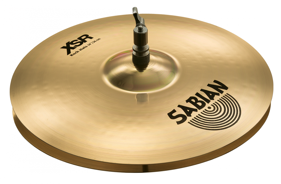 "Image of   Sabian 14"" XSR Rock Hi-hat"