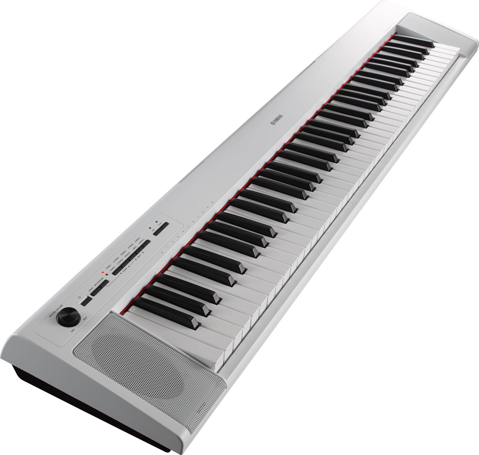 Yamaha NP-32WH Digital Keyboard - Hvid